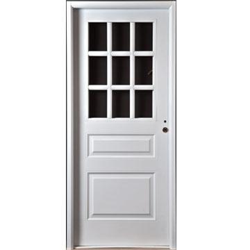 Chapa para puerta de aluminio precio