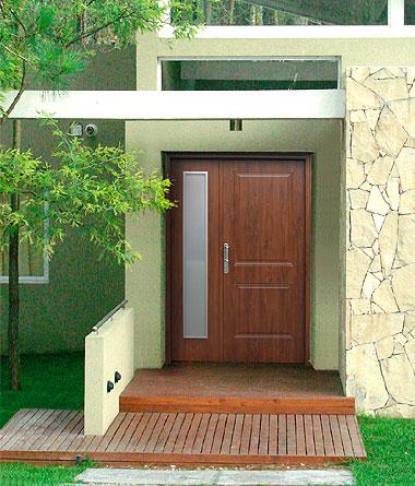 Puertas de madera carpinter a de aluminio aberturas for Aberturas del norte pilar telefono